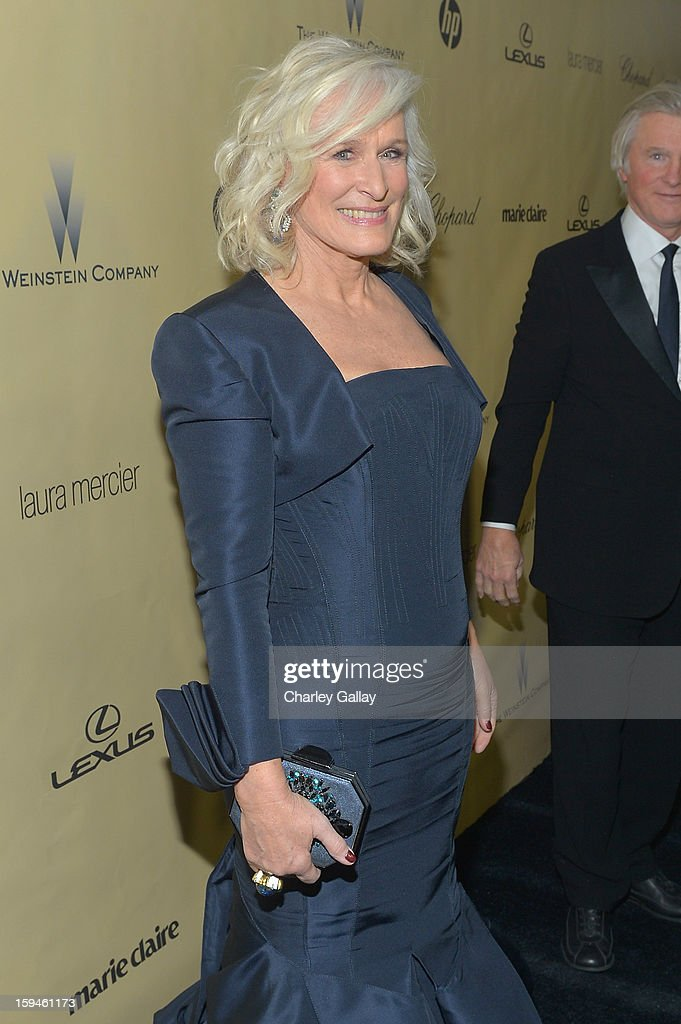 Actress Glenn Close attends The Weinstein Company's 2013 Golden Globe Awards After Party presented by Chopard held at The Old Trader Vic's at The Beverly Hilton Hotel on January 13, 2013 in Beverly Hills, California.