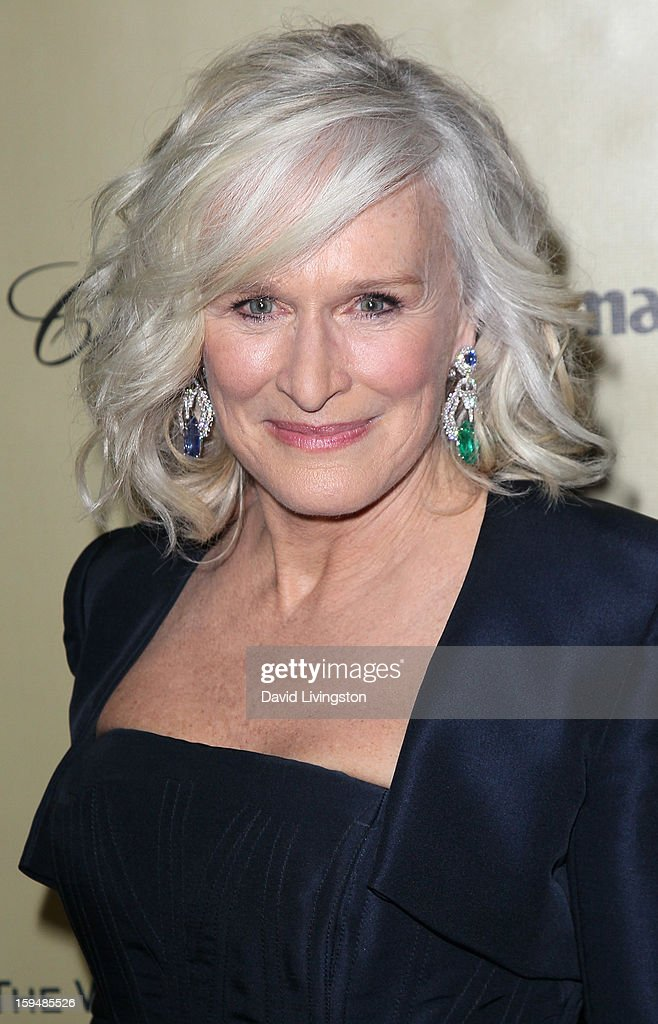 Actress Glenn Close attends The Weinstein Company's 2013 Golden Globe Awards After Party at The Beverly Hilton hotel on January 13, 2013 in Beverly Hills, California.