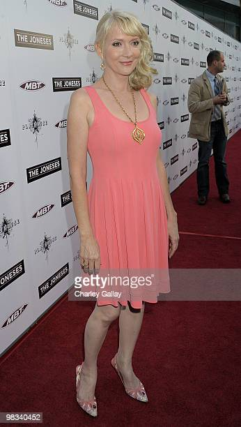 Actress Glenne Headly arrives at Roadside Attractions Echo Lake Entertainment's premiere of 'The Joneses' held at Arclight Hollywood Cinema on April...