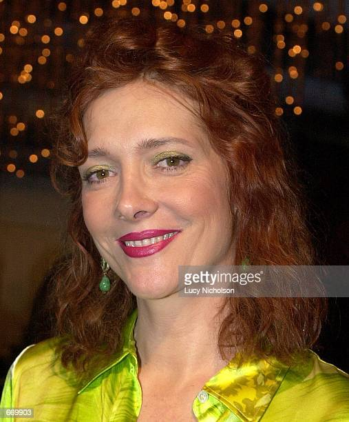 Actress Glenne Headly arrives at the premiere of her new miniseries 'A Girl Thing' January 10 2001 in Hollywood CA