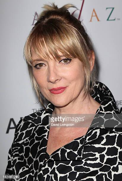 Actress Glenne Headly attends a private reception for the 'Alan Cumming Snaps' exhibit featuring limited edition fine art photography by Alan Cumming...