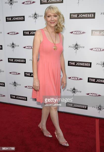 Actress Glenne Headly attends the premiere of 'The Joneses' at ArcLight Cinemas on April 8 2010 in Hollywood California
