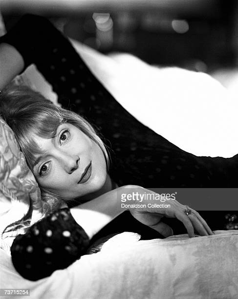 Actress Glenne Headly poses for publicity photos in 1996 at her residence in Los Angeles California