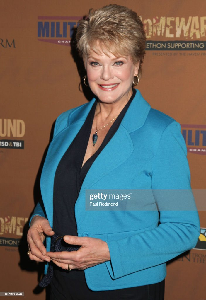Actress Gloria Loring attends the Homeward Bound Telethon at American Legion Hall on November 10, 2013 in Los Angeles, California.