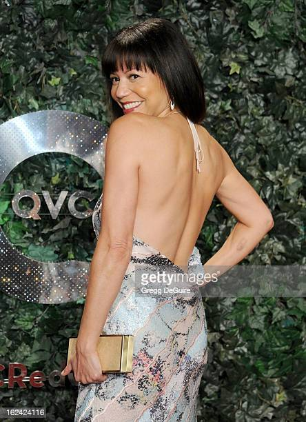 Actress Gloria Reuben arrives at the QVC 'Red Carpet Style' party at Four Seasons Hotel Los Angeles at Beverly Hills on February 22 2013 in Beverly...