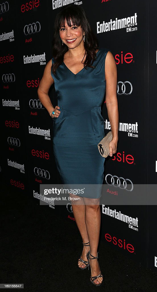 Actress Gloria Reuben attends Entertainment Weekly Screen Actors Guild Awards Pre-Party at Chateau Marmont on January 26, 2013 in Los Angeles, California.