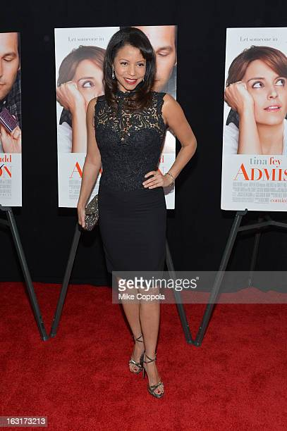 Actress Gloria Reuben attends the 'Admission' New York Premiere at AMC Loews Lincoln Square 13 on March 5 2013 in New York City