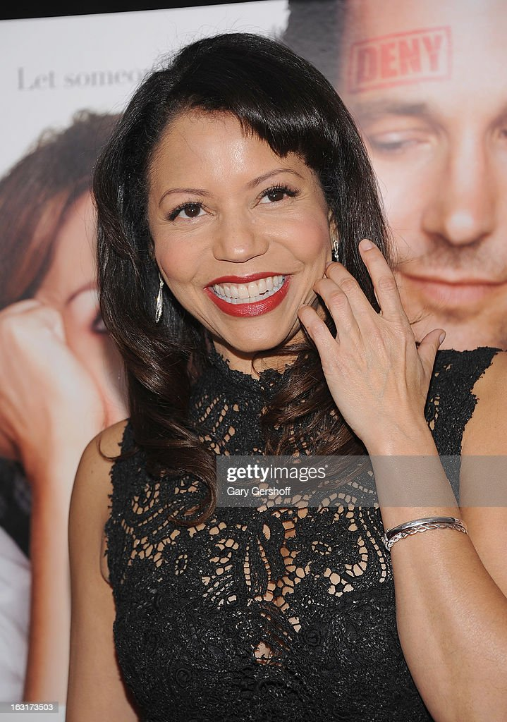 Actress Gloria Reuben attends the 'Admission' New York premiere at AMC Loews Lincoln Square 13 on March 5, 2013 in New York City.