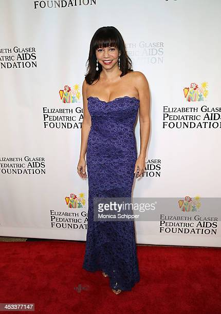 Actress Gloria Reuben attends the Elizabeth Glaser Pediatric AIDS Foundation's 25th Anniversary Gala at Best Buy Theater on December 3 2013 in New...