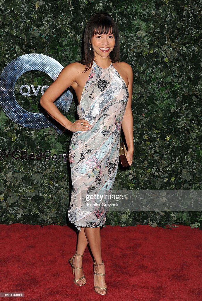 Actress Gloria Reuben attends the QVC Red Carpet Style Party held at Four Seasons Hotel Los Angeles at Beverly Hills on February 22, 2013 in Beverly Hills, California.