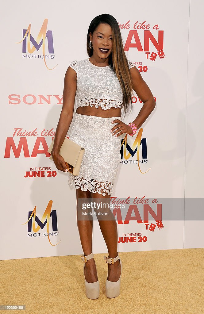 Actress Golden Brooks arrives for the premiere of 'Think Like A Man Too' at TCL Chinese Theatre on June 9, 2014 in Hollywood, California.