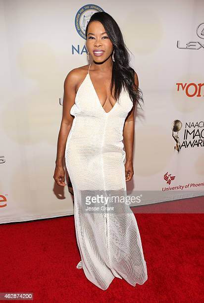 Actress Golden Brooks attends the 46th NAACP Image Awards presented by TV One at Pasadena Civic Auditorium on February 6 2015 in Pasadena California