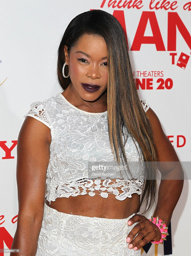 Actress Golden Brooks attends the Premiere Of Screen Gems' 'Think like a man too' at TCL Chinese Theatre on June 9, 2014 in Hollywood, California.