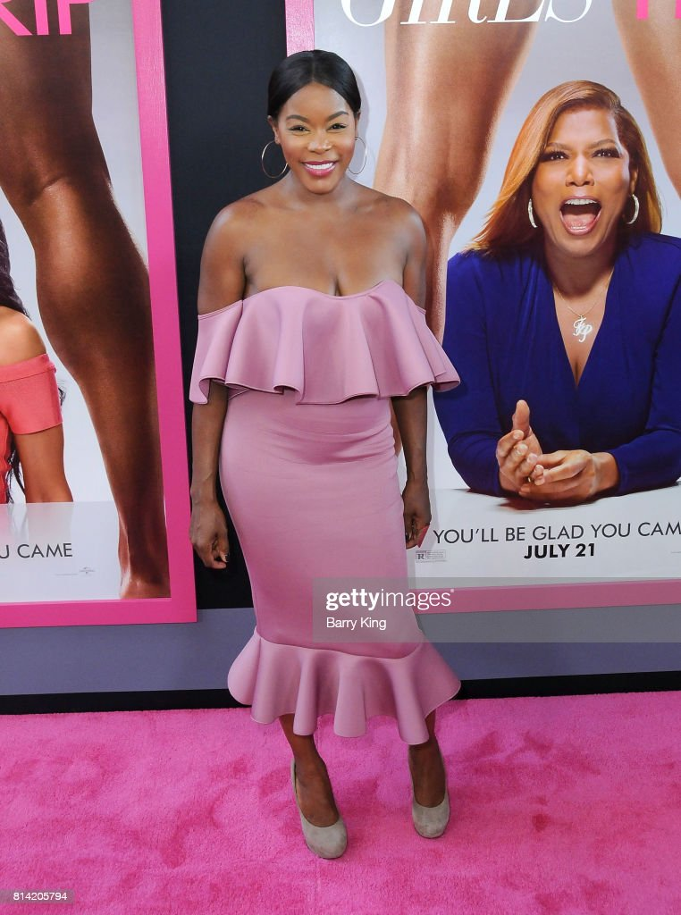 Actress Golden Brooks attends the Premiere of Universal Pictures' 'Girls Trip' at Regal LA Live Stadium 14 on July 13, 2017 in Los Angeles, California.