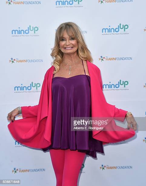 Actress Goldie Hawn attends Goldie Hawn's Annual Goldie's Love In For Kids on May 06 2016 in Beverly Hills California