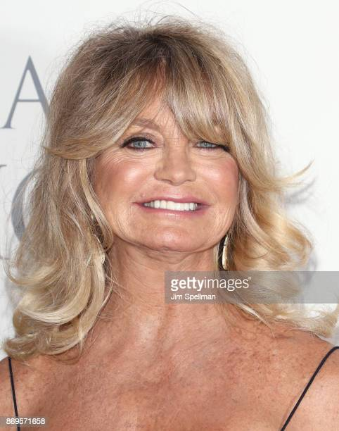 Actress Goldie Hawn attends the 2017 Samsung Charity Gala at Skylight Clarkson Sq on November 2 2017 in New York City