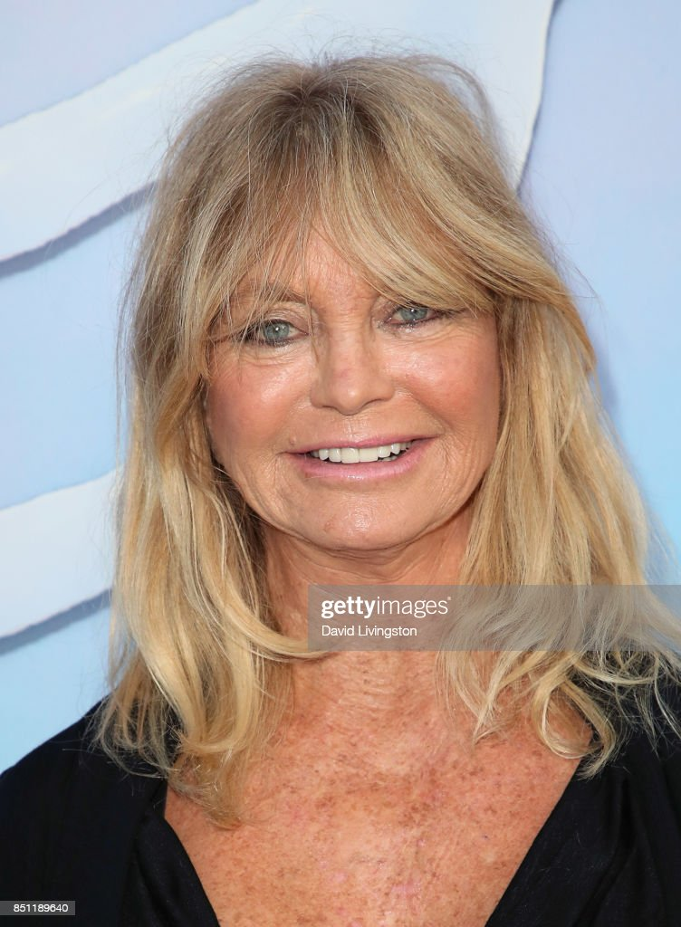 Actress Goldie Hawn attends the premiere of Alex Israel's 'SPF-18' at University High School on September 21, 2017 in Los Angeles, California.