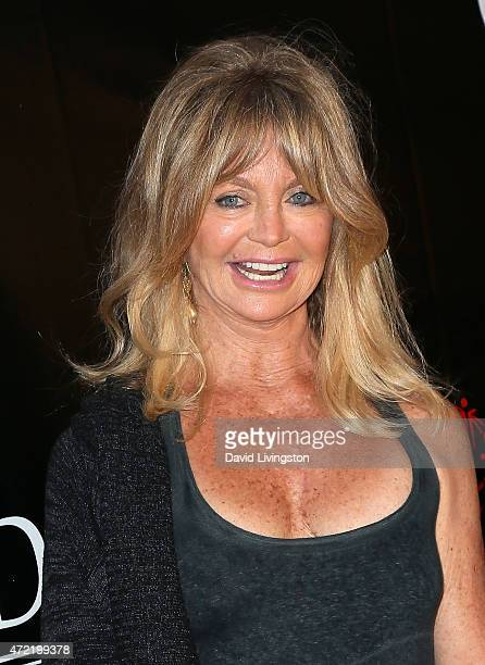 Actress Goldie Hawn attends the premiere of Roadside Attractions' Godspeed Pictures' 'Where Hope Grows' at ArcLight Cinemas on May 4 2015 in...
