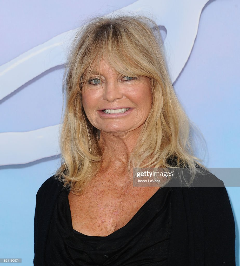 Actress Goldie Hawn attends the premiere of 'SPF-18' at University High School on September 21, 2017 in Los Angeles, California.