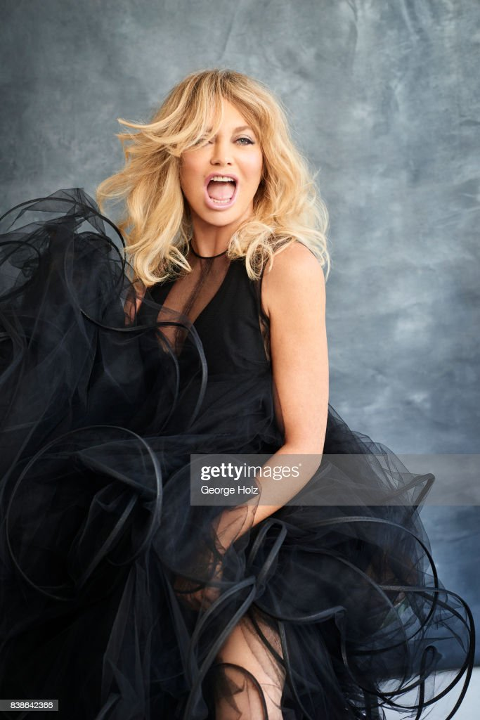 Actress Goldie Hawn is photographed for Cambria Style Magazine on April 18, 2017 in New York City. PUBLISHED