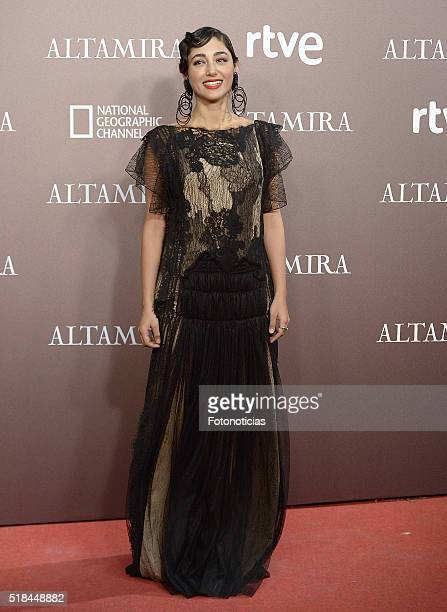 Actress Golshifteh Farahani attends the 'Altamira' premiere at Callao Cinema on March 31 2016 in Madrid Spain