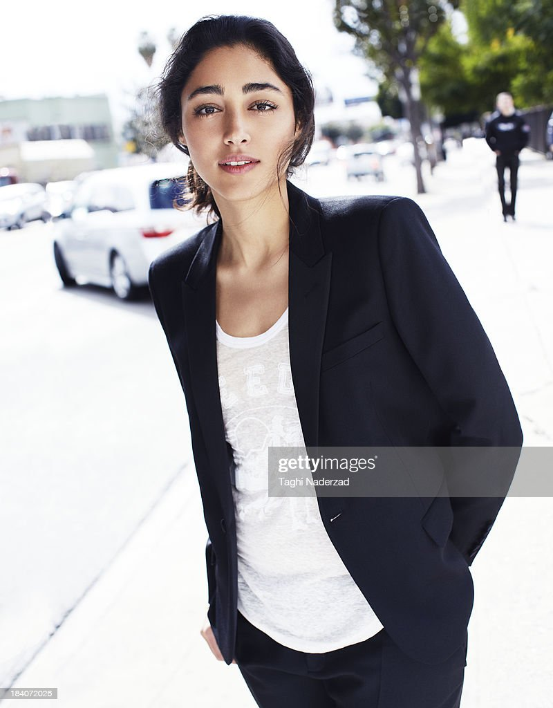 Actress <a gi-track='captionPersonalityLinkClicked' href=/galleries/search?phrase=Golshifteh+Farahani&family=editorial&specificpeople=5535488 ng-click='$event.stopPropagation()'>Golshifteh Farahani</a> is photographed for Grazia France on February 8, 2013 in Los Angeles, California. COVER IMAGE.