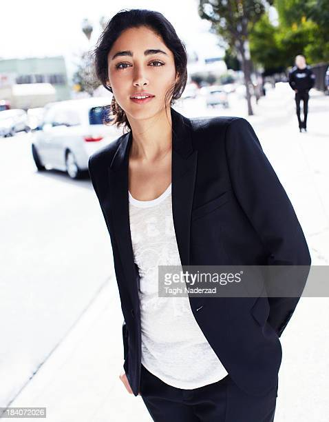 Actress Golshifteh Farahani is photographed for Grazia France on February 8 2013 in Los Angeles California COVER IMAGE