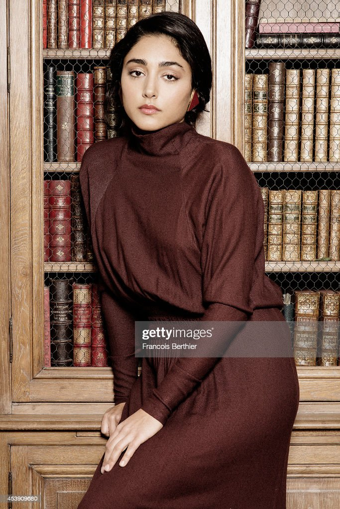 Actress <a gi-track='captionPersonalityLinkClicked' href=/galleries/search?phrase=Golshifteh+Farahani&family=editorial&specificpeople=5535488 ng-click='$event.stopPropagation()'>Golshifteh Farahani</a> is photographed for Self Assignment on February 26, 2014 in Paris, France.