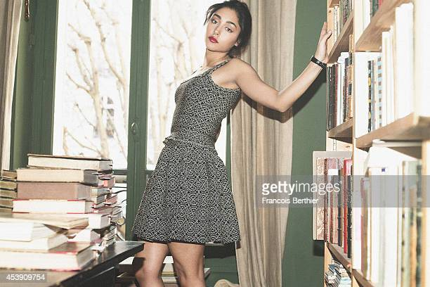 Actress Golshifteh Farahani is photographed for Self Assignment on February 26 2014 in Paris France