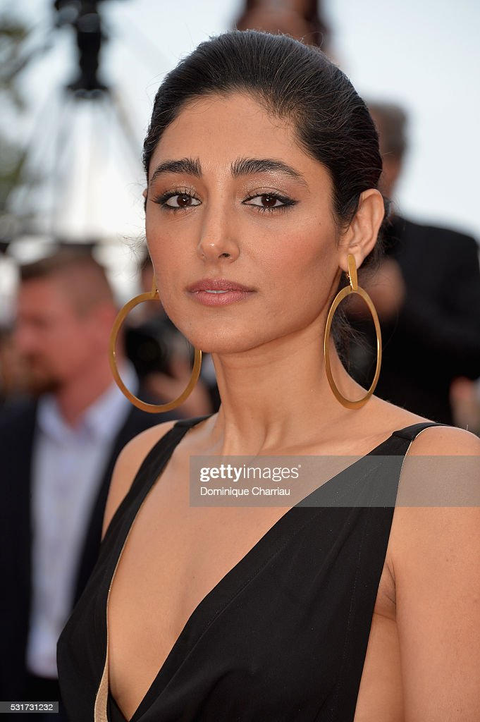 Actress <a gi-track='captionPersonalityLinkClicked' href=/galleries/search?phrase=Golshifteh+Farahani&family=editorial&specificpeople=5535488 ng-click='$event.stopPropagation()'>Golshifteh Farahani</a> leaves the 'Paterson' premiere during the 69th annual Cannes Film Festival at the Palais des Festivals on May 16, 2016 in Cannes, France.