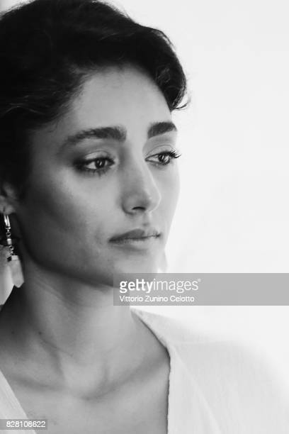 Actress Golshifteh Farahani poses during the 70th Locarno Film Festival on August 9 2017 in Locarno Switzerland