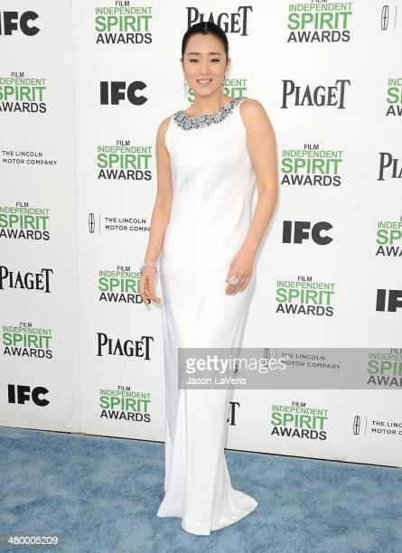 Actress Gong Li attends the 2014 Film Independent Spirit Awards on March 1 2014 in Santa Monica California