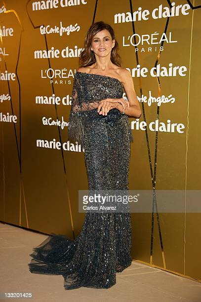 Actress Goya Toledo attends Marie Claire Prix de la Moda awards 2011 at French Embassy on November 17 2011 in Madrid Spain