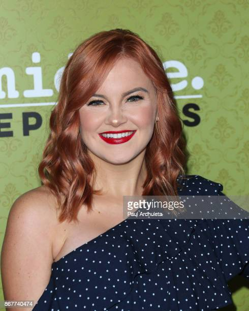 Actress Grace Bannon attends ABC's 'The Middle' 200th episodes celebration at the Fig Olive on October 28 2017 in West Hollywood California