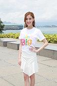 HKG: Grace Chan Attends TVB Activity In Hong Kong