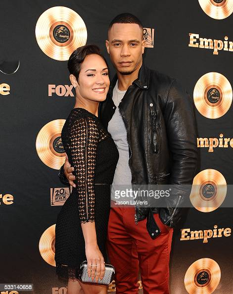 Actress Grace Gealey and actor Trai Byers attend the 'Empire' FYC ATAS ...