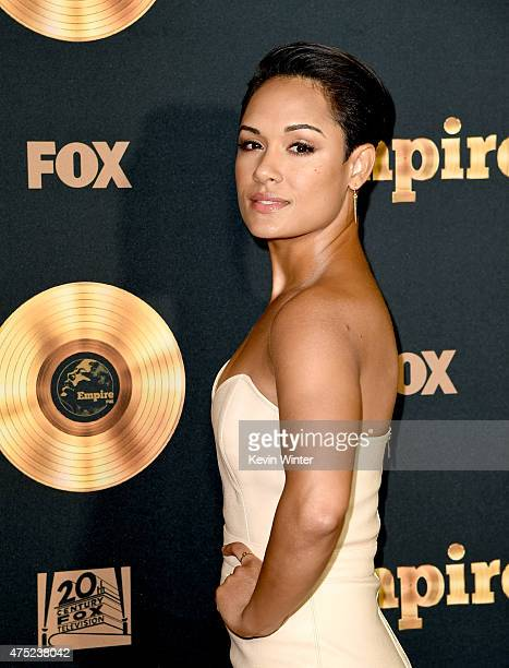 Actress Grace Gealey arrives at the Television Academy event for Fox Tv's 'Empire' A Performance Under The Stars at The Grove on May 28 2015 in Los...