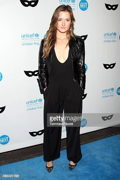 Actress Grace Gummer at the UNICEF Next Generation Third Annual UNICEF Black White Masquerade Ball benefiting UNICEF's lifesaving programs including...