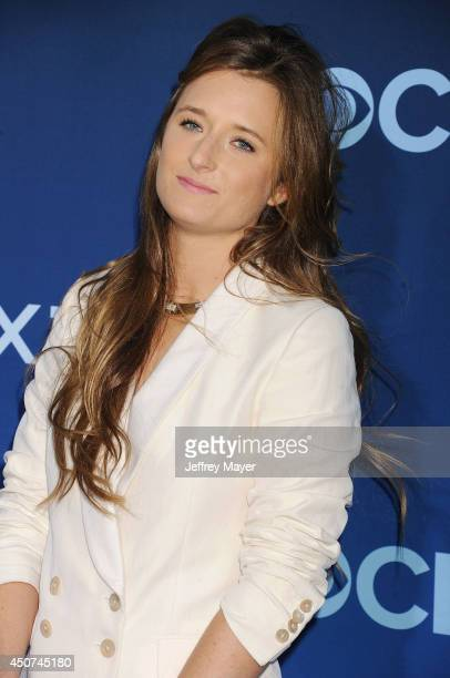 Actress Grace Gummer attends the Premiere Of CBS Films' 'Extant' at California Science Center on June 16 2014 in Los Angeles California