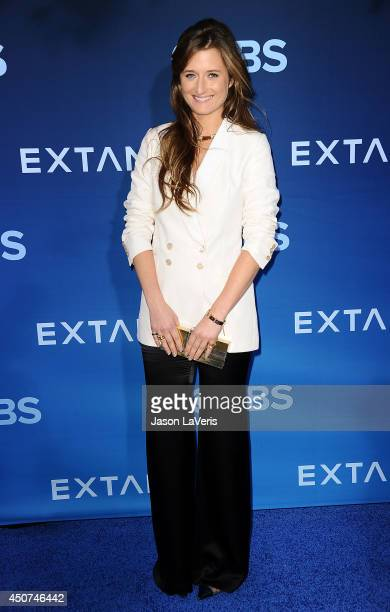 Actress Grace Gummer attends the premiere of 'Extant' at California Science Center on June 16 2014 in Los Angeles California