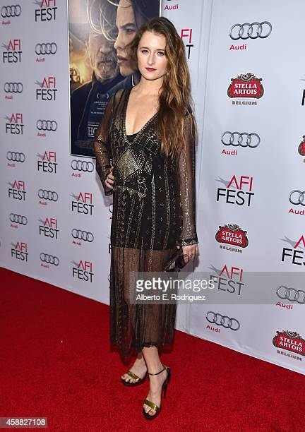 Actress Grace Gummer attends the screening of 'The Homesman' during AFI FEST 2014 presented by Audi at Dolby Theatre on November 11 2014 in Hollywood...