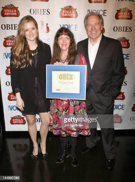 Actress Grace Gummer Caridad Svich and actor Michael McKean attend the 57th Annual Village Voice Obie Awards at Webster Hall on May 21 2012 in New...