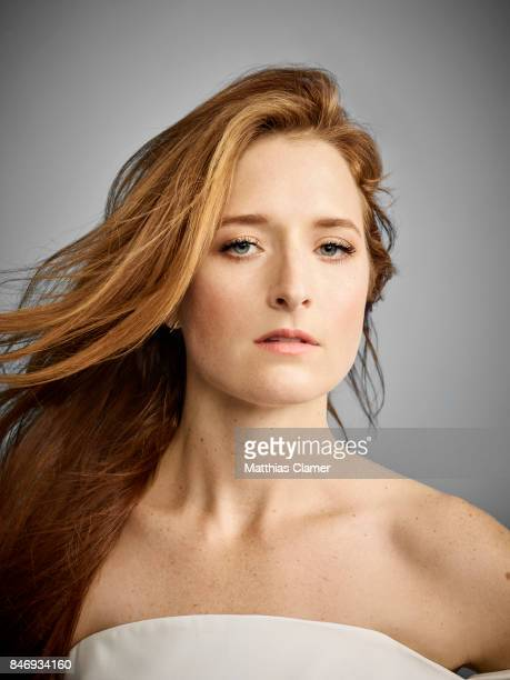 Actress Grace Gummer from 'Mr Robot' is photographed for Entertainment Weekly Magazine on July 21 2016 at Comic Con in the Hard Rock Hotel in San...