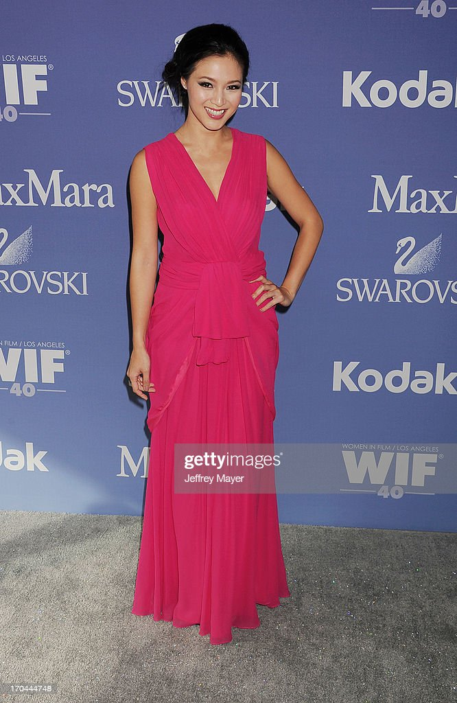Actress Grace Huang attends Women In Film's 2013 Crystal + Lucy Awards at The Beverly Hilton Hotel on June 12, 2013 in Beverly Hills, California.