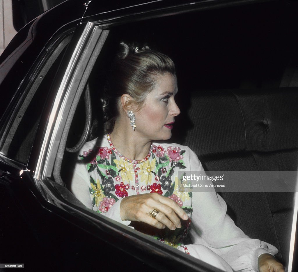 Actress <a gi-track='captionPersonalityLinkClicked' href=/galleries/search?phrase=Grace+Kelly+-+Actress&family=editorial&specificpeople=70044 ng-click='$event.stopPropagation()'>Grace Kelly</a> arrives at an event circa 1975 in Los Angeles, California.