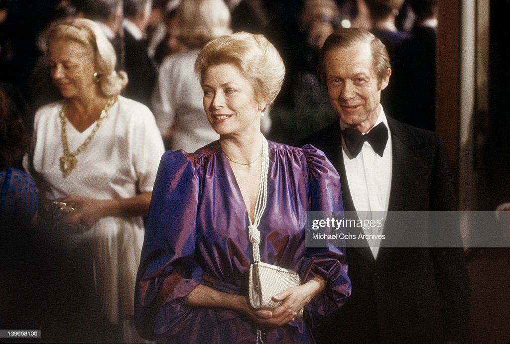 Actress <a gi-track='captionPersonalityLinkClicked' href=/galleries/search?phrase=Grace+Kelly+-+Actress&family=editorial&specificpeople=70044 ng-click='$event.stopPropagation()'>Grace Kelly</a> attends the AFI Life Achievement Award and Tribute to Jimmy Stewart at the Beverly Hilton Hotel on February 28, 1980 in Beverly Hills, California.