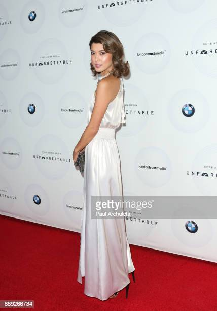 Actress Grace Park attends the 16th annual Unforgettable Gala at The Beverly Hilton Hotel on December 9 2017 in Beverly Hills California