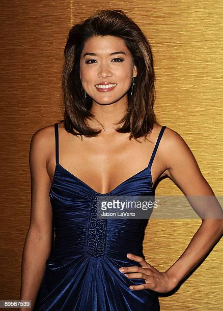 Actress Grace Park attends the 25th annual Television Critics Association Awards at The Langham Resort on August 1 2009 in Pasadena California