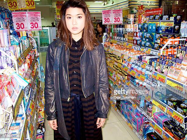 Actress Grace Park is photographed for KoreAM Magazine on February 1 2010 in Tokyo Japan PUBLISHED IMAGE