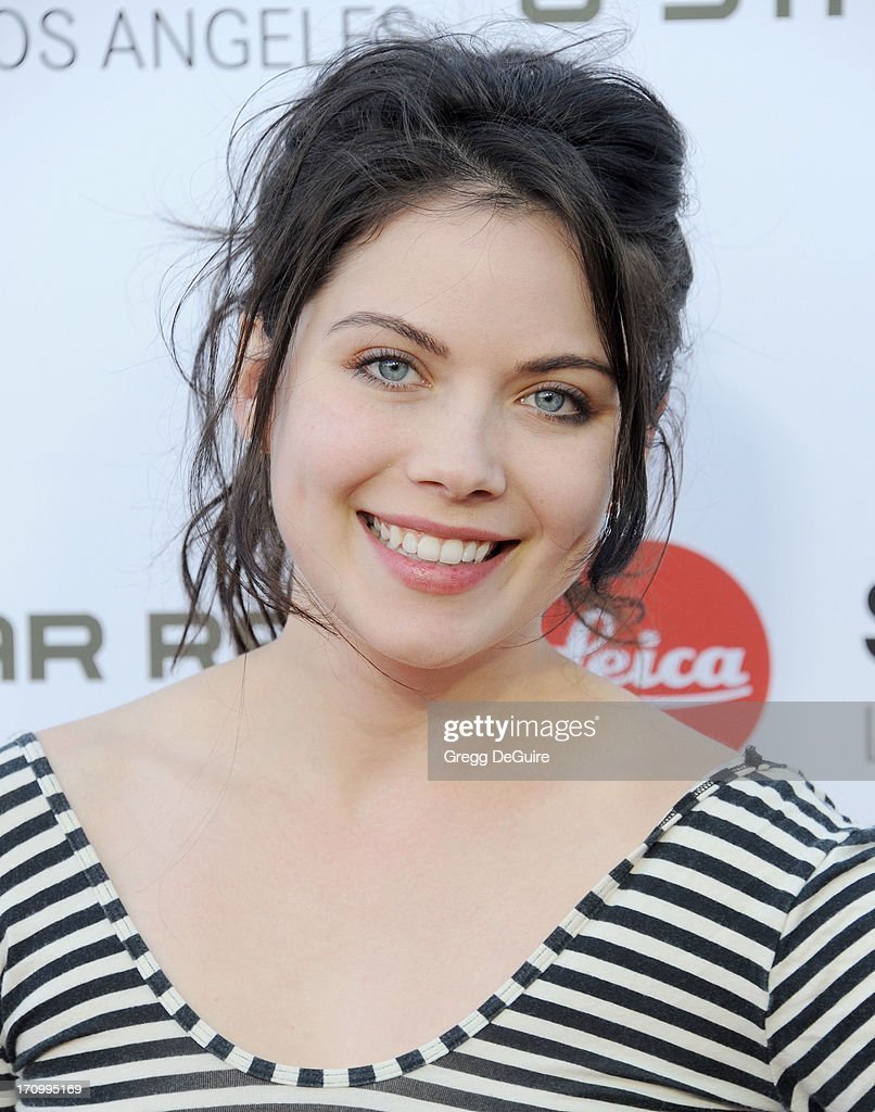 Actress Grace Phipps arrives at the Leica Store Los Angeles grand opening at Leica on June 20, 2013 in Los Angeles, California.